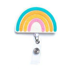 Rainbow | Nurse and Teacher Badge Reel Holder